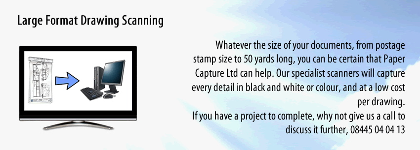 Large Format Scanning Services